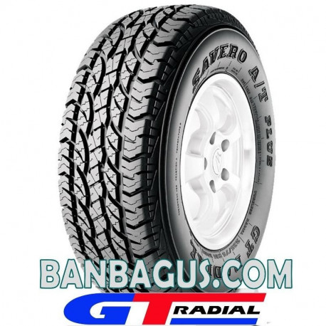 ban GT Radial Savero AT Plus 235/70R15 OWL tulisan huruf putih