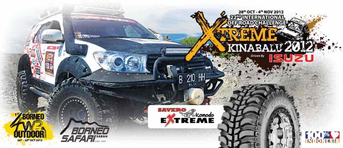 Promo ban GT Savero Komodo Extreme MT